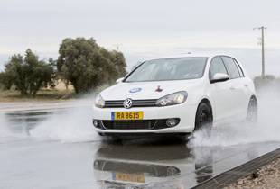 TÜV testers put tires through their paces in all conditions